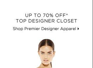 Up To 70% Off* Top Designer Closet