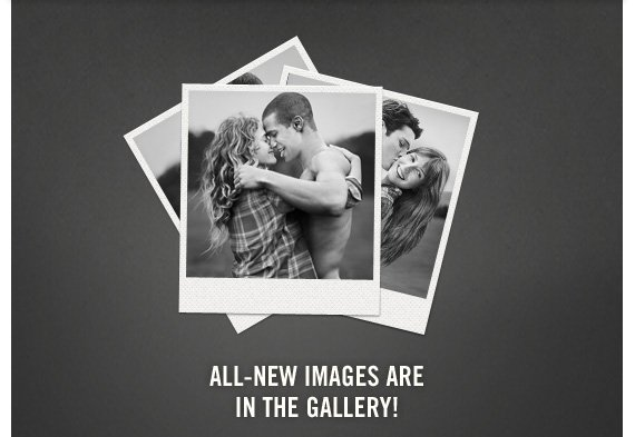 ALL-NEW IMAGES ARE IN THE  GALLERY!