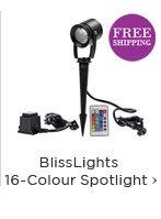 BlissLights 16-Colour Spotlight