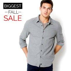 The Biggest Fall Sale: Men's Apparel