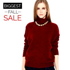 The Biggest Fall Sale: Knitwear for Her