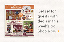 Get set for guests with deals in this week's ad.