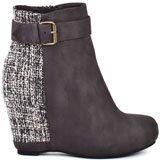 Tessa - Grey Tweed