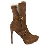 Candace - Camel Suede