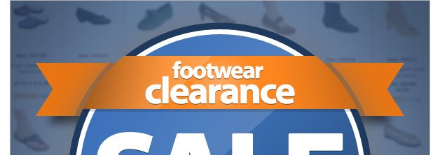 Footwear Clearance SALE - Save up to 70% - Shop Now