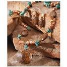 Jasper and Pearl Jewelry Set