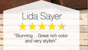 Lida Sayer - 4.5/5 stars - Shop now