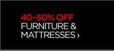 40-50% OFF FURNITURE & MATTRESSES  ›