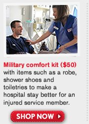 Military comfort Kit. Shop Now