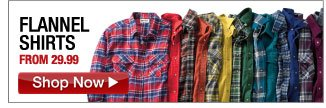 flannel shirts from 29.99 - click the link below