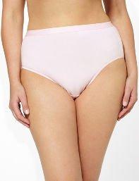 Serenada® Solid Hi-Cut Panty