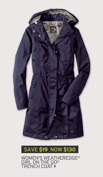 Shop Womens' Weatheredge Girl on the Go Trench