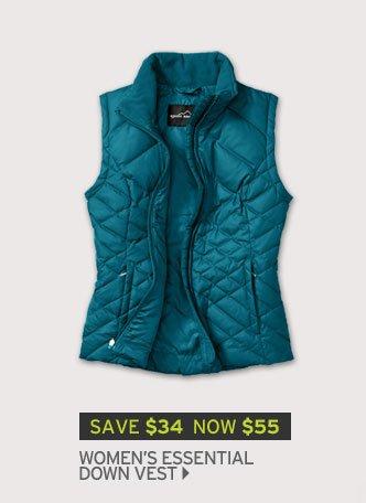 Shop Women's Essential Down Vest