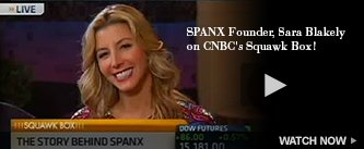 SPANX Founder, Sara Blakely, on CNBC's Squawk Box! Watch Now!