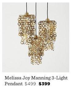 Melissa Joy Manning 3-Light Pendant