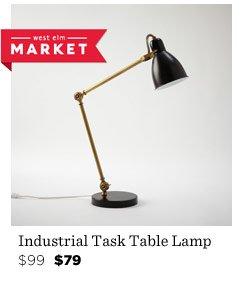 Industrial Task Table Lamp