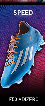 Pre–Order the adizero F50 Soccer Cleats »