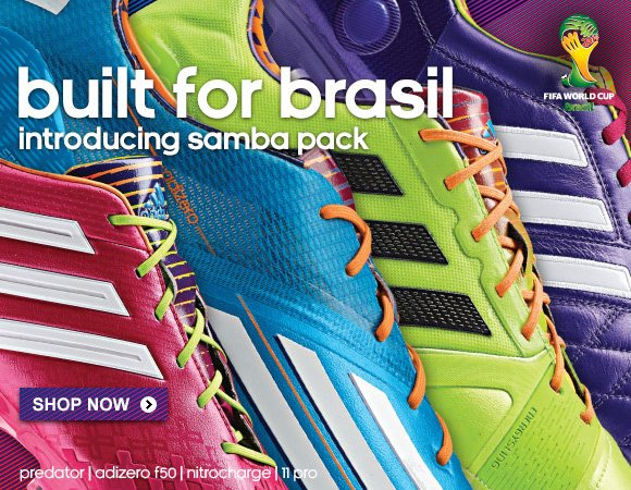 Shop Soccer Cleats »