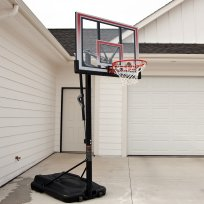 Lifetime 50 Inch Shatter Proof Portable Basketball Hoop