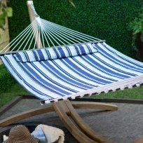 Island Bay 13 ft. Nautical Quilted Hammock