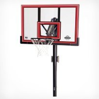 Lifetime 50 Inch Shatter Proof Adjustable In-Ground Basketball System