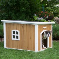 Boomer & George Chateau Lift-Top Roof Dog House