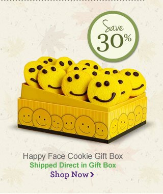 Happy Face Cookie gift Box                                 Shop Now