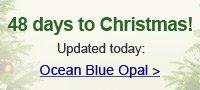 Ocean Blue Opal