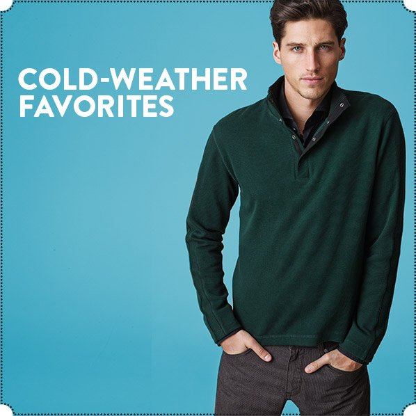 COLD-WEATHER FAVORITES