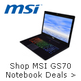 shop msi gs70 notebook deals