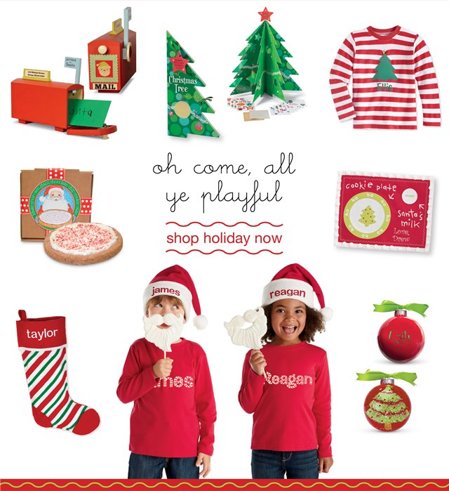 our holiday shop is open