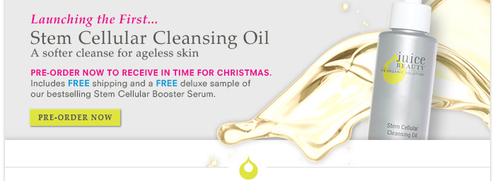 Launching the FIRST Stem Cellular Cleansing Oil