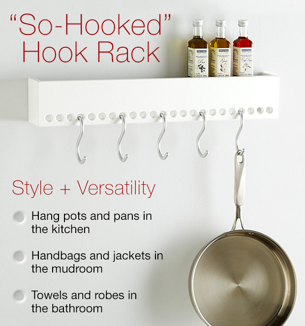 """So-Hooked"" Hook Rack »"