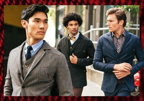 Shop Crosby & Ross: Fall Tweed from $49