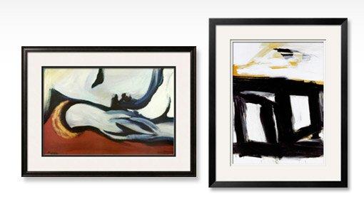 REST By: Pablo Picasso; ZINC DOORS By: Franz Kline