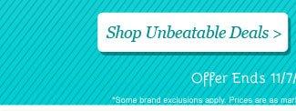 Shop all Unbeatable Deals