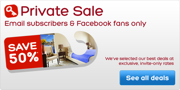 Private Sale - Email subscribers & Facebook fans only - Save 50*