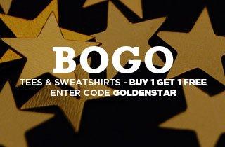 Golden Stars: Tees & Sweatshirts