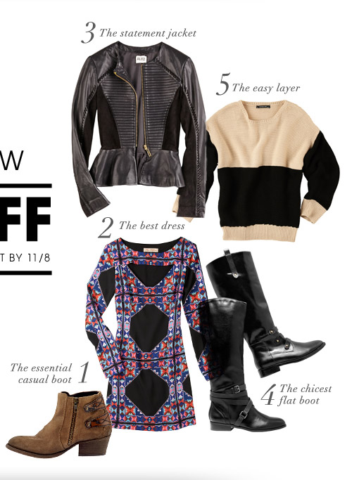 2 DAYS ONLY! THE 10 STYLES YOU NEED NOW. 25% OFF. ENTER CODE WINTER AT CHECKOUT BY 11/8