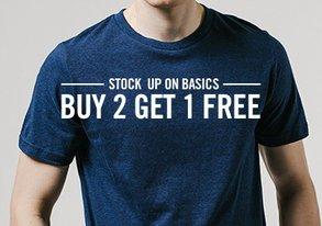 Shop Buy 2, Get 1 FREE: Basic Tees
