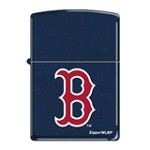 Zippo AD223 Classic Boston Red Navy Blue Matte Windproof Lighter