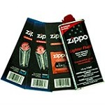 Zippo  Gift Set - 4 oz Lighter Fluid 1 Wick Card & 2 Flint Card (12 flints)