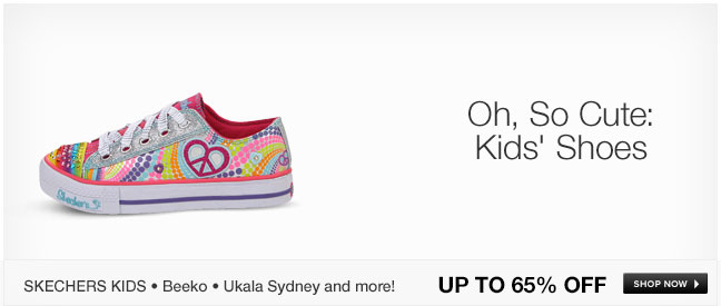 Oh, So Cute: Kids Shoes