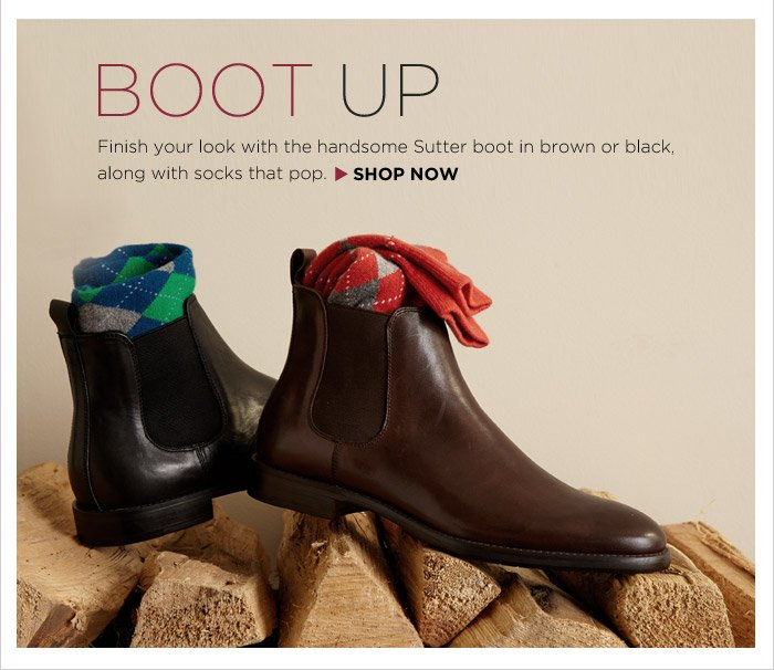 BOOT UP | SHOP NOW