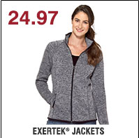 24.97 Exertek® Jackets. Shop now.