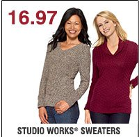 17.97 Studio Works® Sweaters. Shop now.