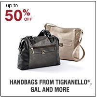 40-50% off Handbags from Tignanello®, Stone Mountain®, Gal and more. Shop  now.