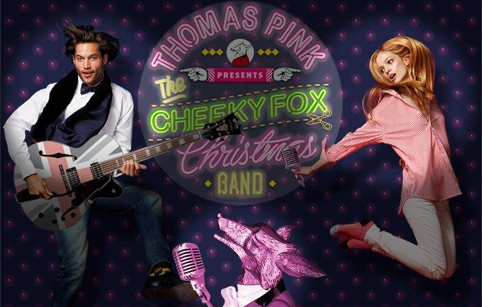 WITH THE CHEEKY FOX CHRISTMAS BAND