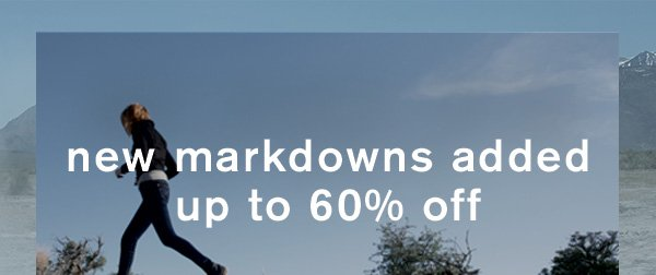 New Markdowns Added: Up to 60% off!
