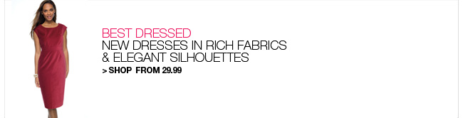 Shop New Dresses from 29.99